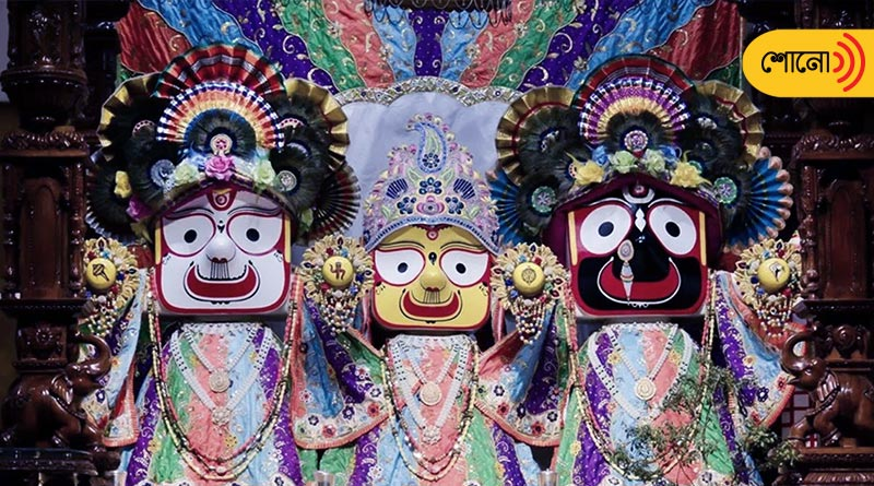 Devotees are eager to watch 'Sonabesh' of Jagannath Dev