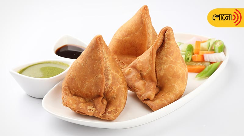 Samosa is not a Indian food originally, comes from Middle East