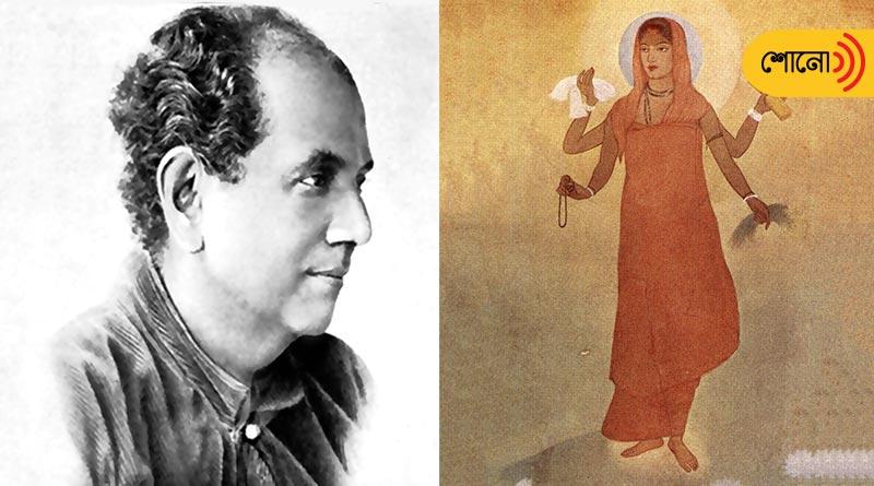 Abanindranath Tagore drew 'Bharatmata' during Swadeshi movement