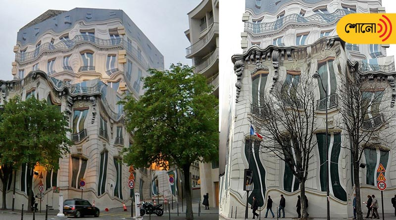 This house of Paris is melting by the heat of sun picture surfaces viral
