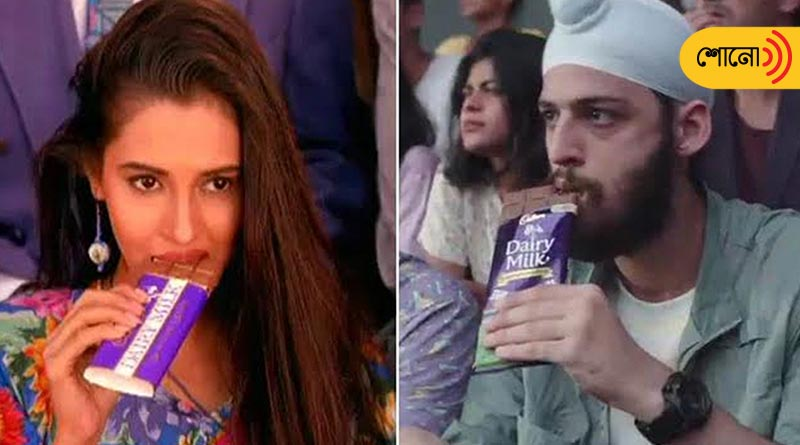 Cadbury recreates the old advertisement, left some questions for society