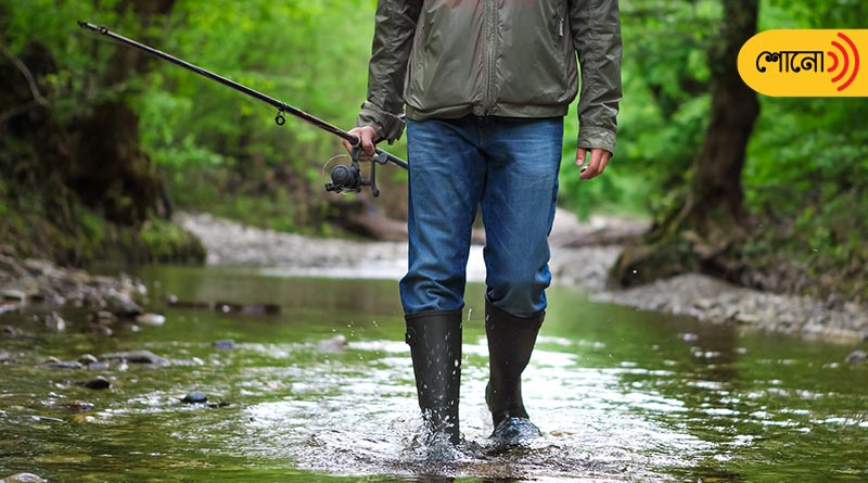 British officers used to go for fishing Mango fish in rainy season