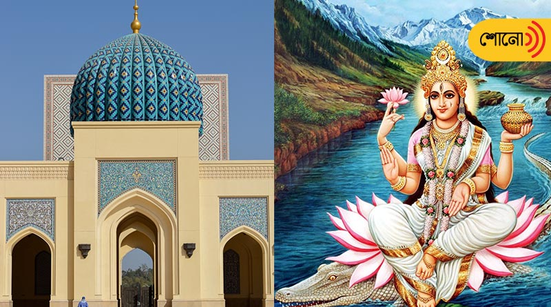 this Muslim ruler built first masque in Bengal but he worshipped Goddess Ganga also