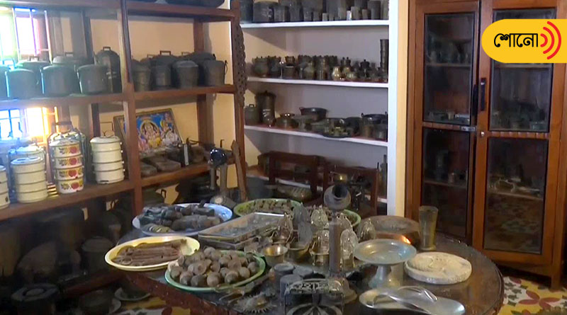 Man Collects Antiquities As Old As 50 Years in Puducherry
