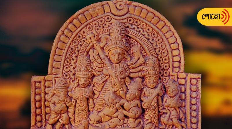 Chalchitra of Goddess Durga on the verge of extinction