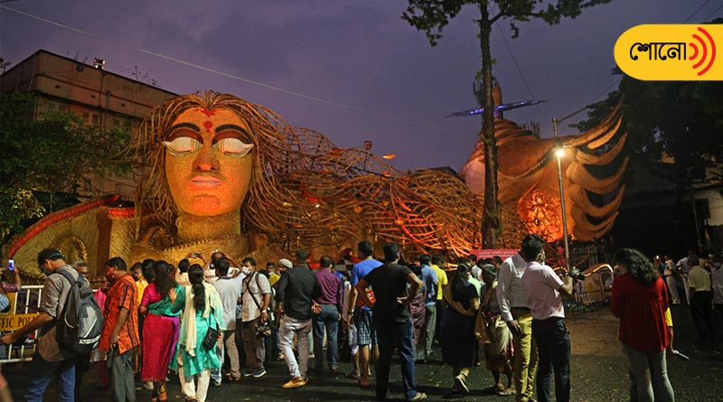Durga Puja 2021: Joy of Durgapuja and the fear of Corona virus
