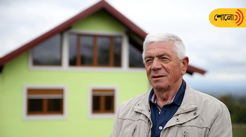 this man has built a revolving house and gifts that to his wife
