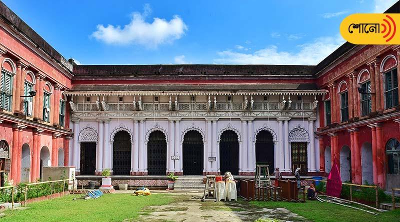 why Raja Nabakrishna Deb started Durga Puja in Shovabazar Rajbari